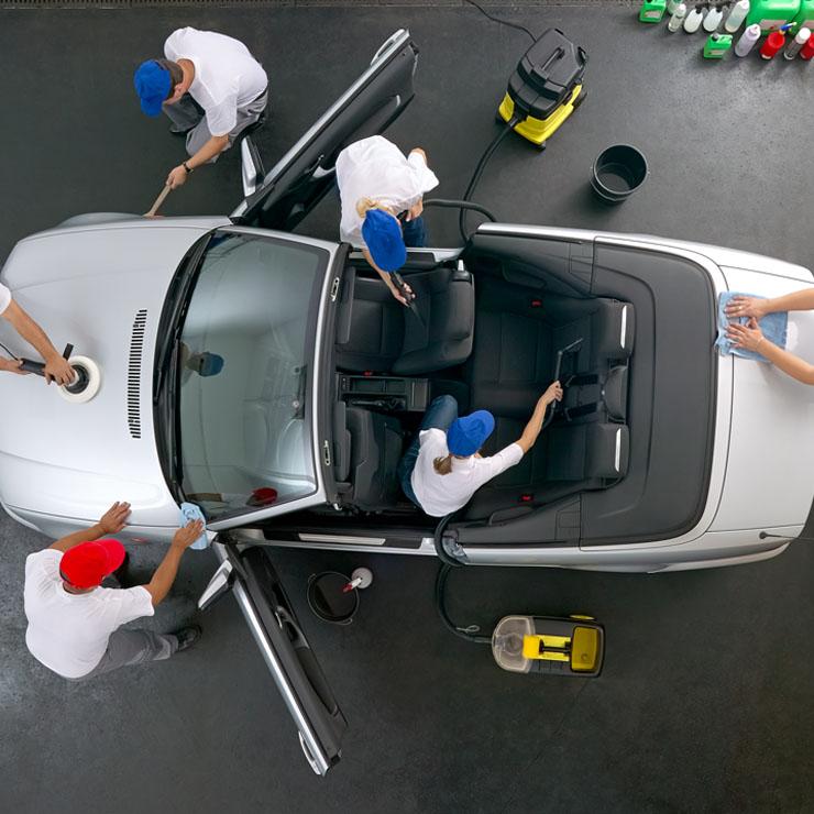 Cura dell'auto a 360°